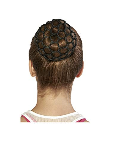 Bloch Unisex-Adult's Standard Hair Bun Cover, black, one