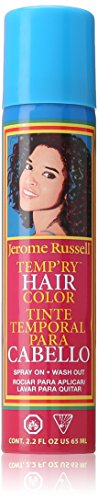 jerome russell Temporary Spray, Black