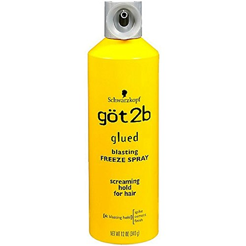 Got2b Glued Blasting Freeze Spray, 12 Ounce