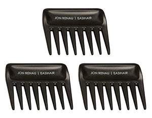 Wide Tooth Combs for Synthetic, set of 3