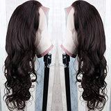 360 Lace Frontal Wigs Body Wave Lace Front Wigs 180% Density 20inch Human Hair Wigs for Women Per Plucked Body Wave Wigs With Baby Hair