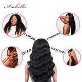 Arabella 360 Lace Frontal Wig Body Wave 20 Inch Lace Front Wigs Human Hair Pre Plucked With Baby Hair 360 Lace Front Wig Natural Hair Wigs 150% Density