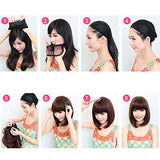 UMei Hair Wigs for Women Short Brown Party Synthetic Fluffy Cosplay Hair Wigs Lace Front Resistance Fiber US Stock