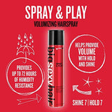 SEXYHAIR Big Spray & Play Volumizing Hairspray, 10 Fl Oz
