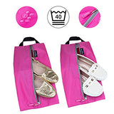 TRAVANDO Shoe Bag Set of 2 - Travel Accessories Essentials Travel Organizers Packing Cubes Suitcase Luggage Bags for Shoes