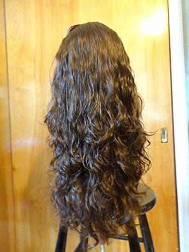 New Malky Wig Sheitel Remy Human Hair Wig Darkest Brown 4