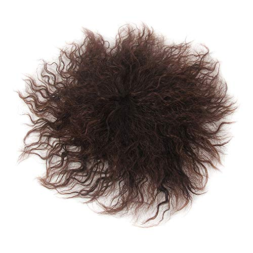 H&B WIG Toupee for Men Short Synthetic Hair Toppers for Thin Hair Men Clips on Hairpiece Toupee Hair Extensions Hairpieces Thick