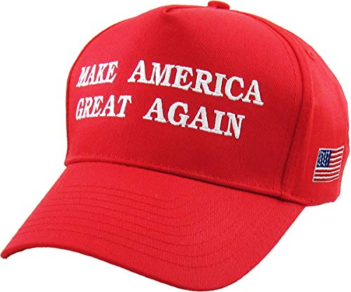 Make America Great Again - Donald Trump 2016 Campaign Cap Hat (002) Red