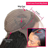 Dorosy Hair Lace Front Wigs Human Hair Wigs for Black Women Brazilian Wet Curly Wigs Glueless Pre Plucked with Baby Hair(8 inch)