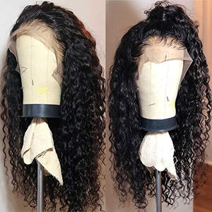 Fureya Long Loose Curly Glueless Lace Front Wigs for Women Heat Resistant Fiber Synthetic Hair with Baby Hair 24 inch …