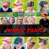 Manic Panic Dye Hard Temporary Hair Color Styling Gel - Raven Black, 1.66 Oz