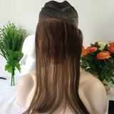 100% European hair I BAND Head band Lace Grip for jewish wig kosher wigs,#1B