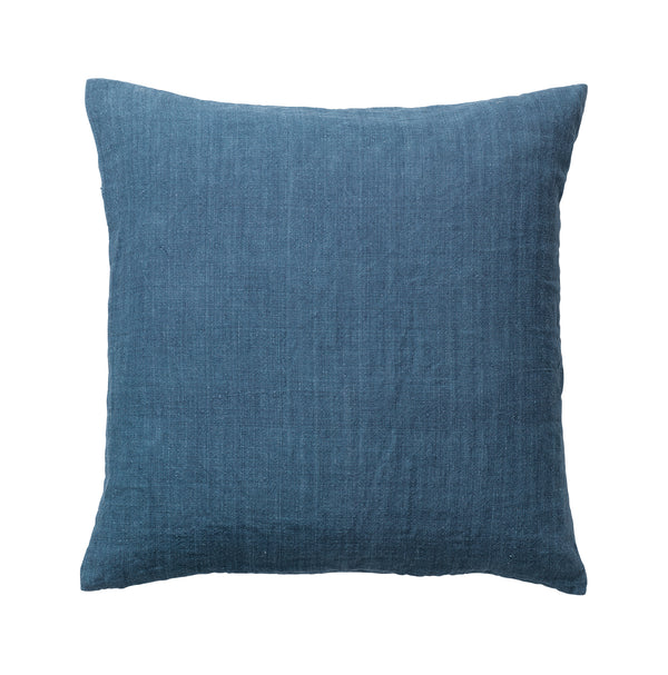Luxury Light Linen - Linnekudde | Major Blue 50 X 50 cm