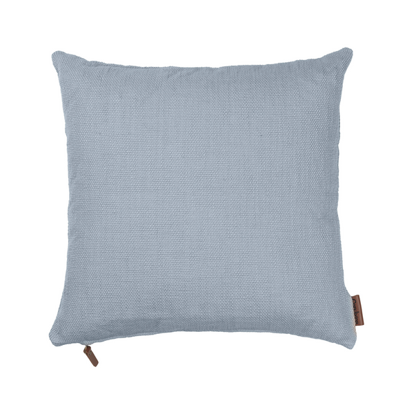 Cotton Heavy Handloom - Handvävd Prydnadskudde | Dusty Blue 50 X 50 Cm