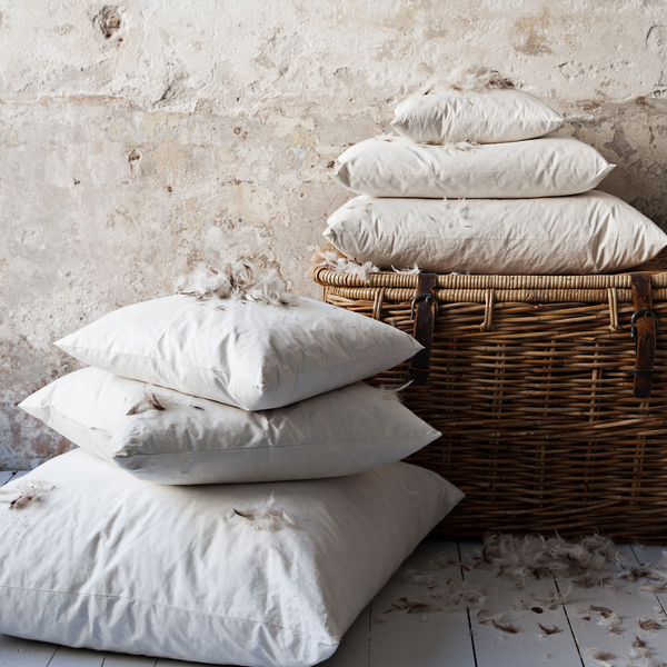 Luxury Light Linen - Linnekudde | Army 50 X 50 cm