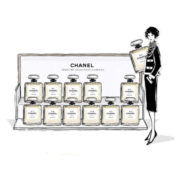 Coco Chanel – The Illustrated World of a Fashion Icon