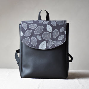 Backpack - Leaves and coffee beans - listliving