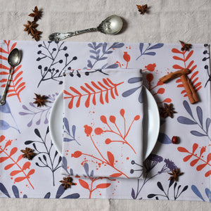 Placemat set of two - Early bloom - listliving