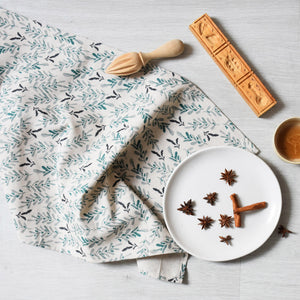 Kitchen towel- Summer garden - listliving