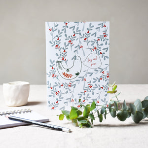 Greeting card -  Joy and peace - listliving