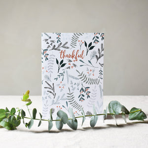 Greeting card -  Thankful - listliving