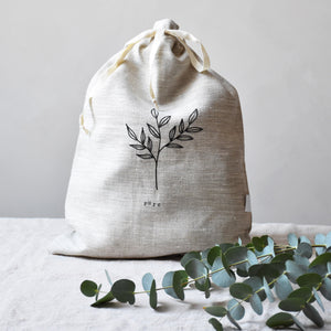 Linen storage bag - Pure - listliving