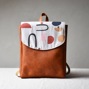 Backpack - Geometric shapes - listliving