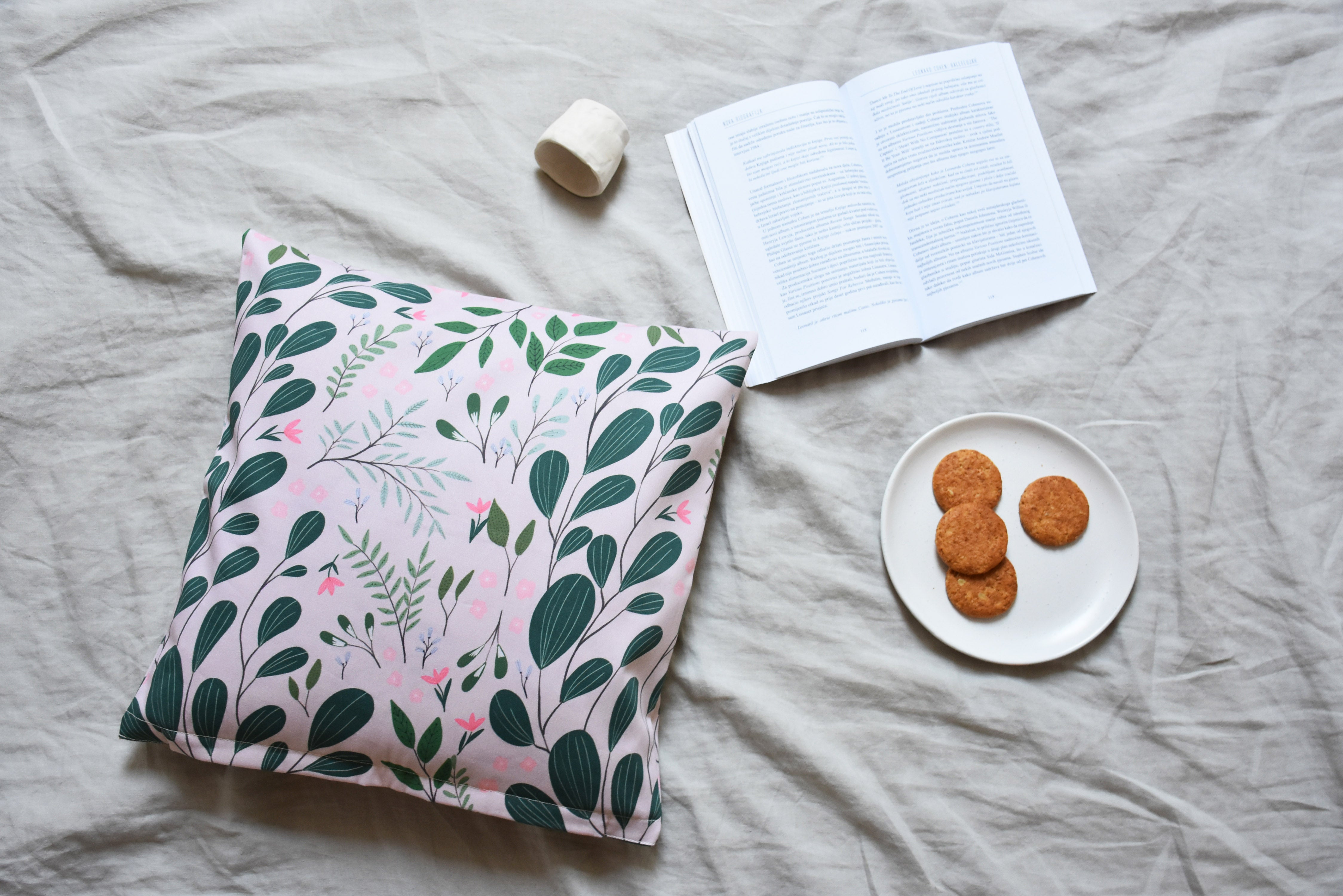 Cushion cover - Forest leaves - listliving