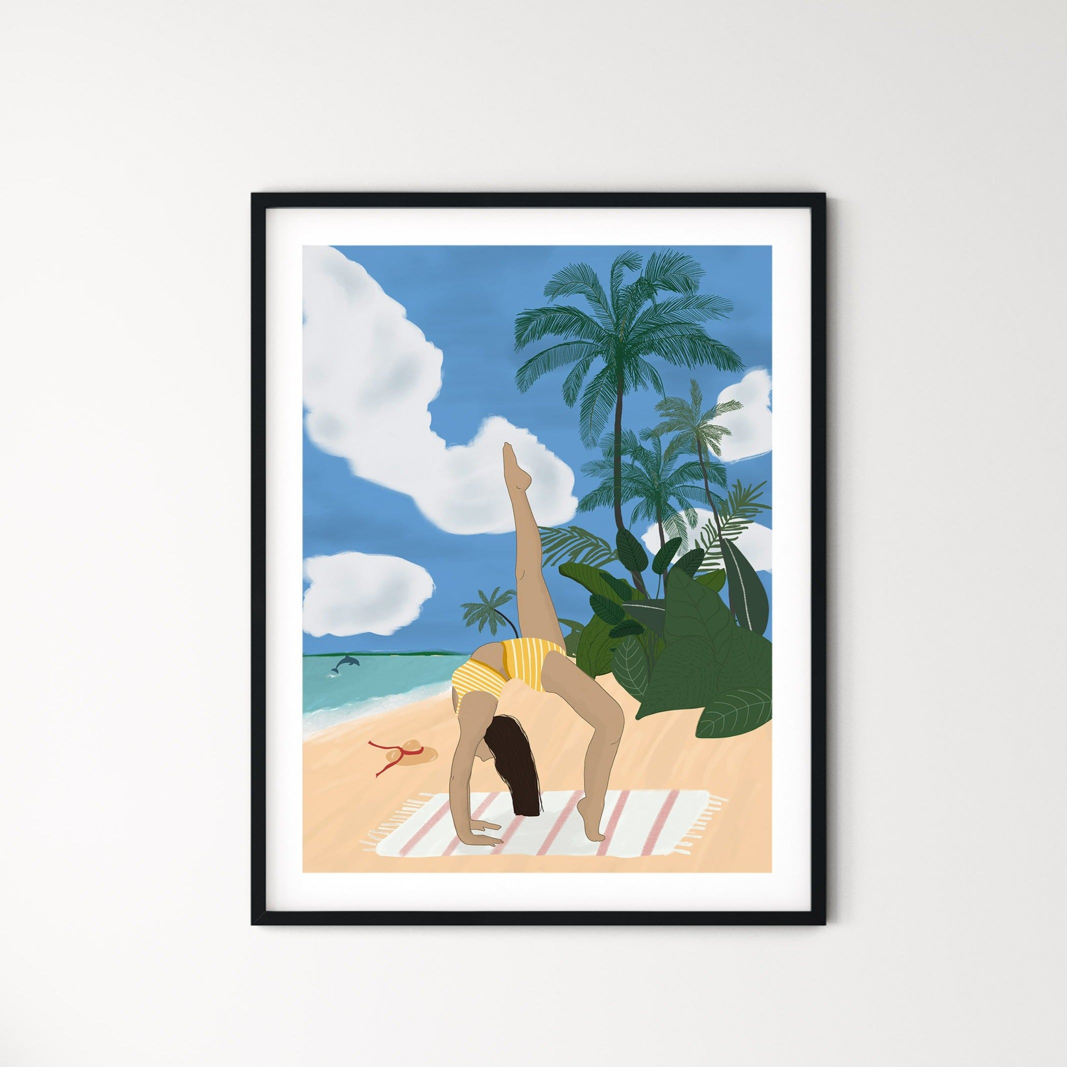 To the beach print - listliving