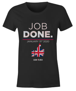 Job Done - Ladies Fitted T Shirt