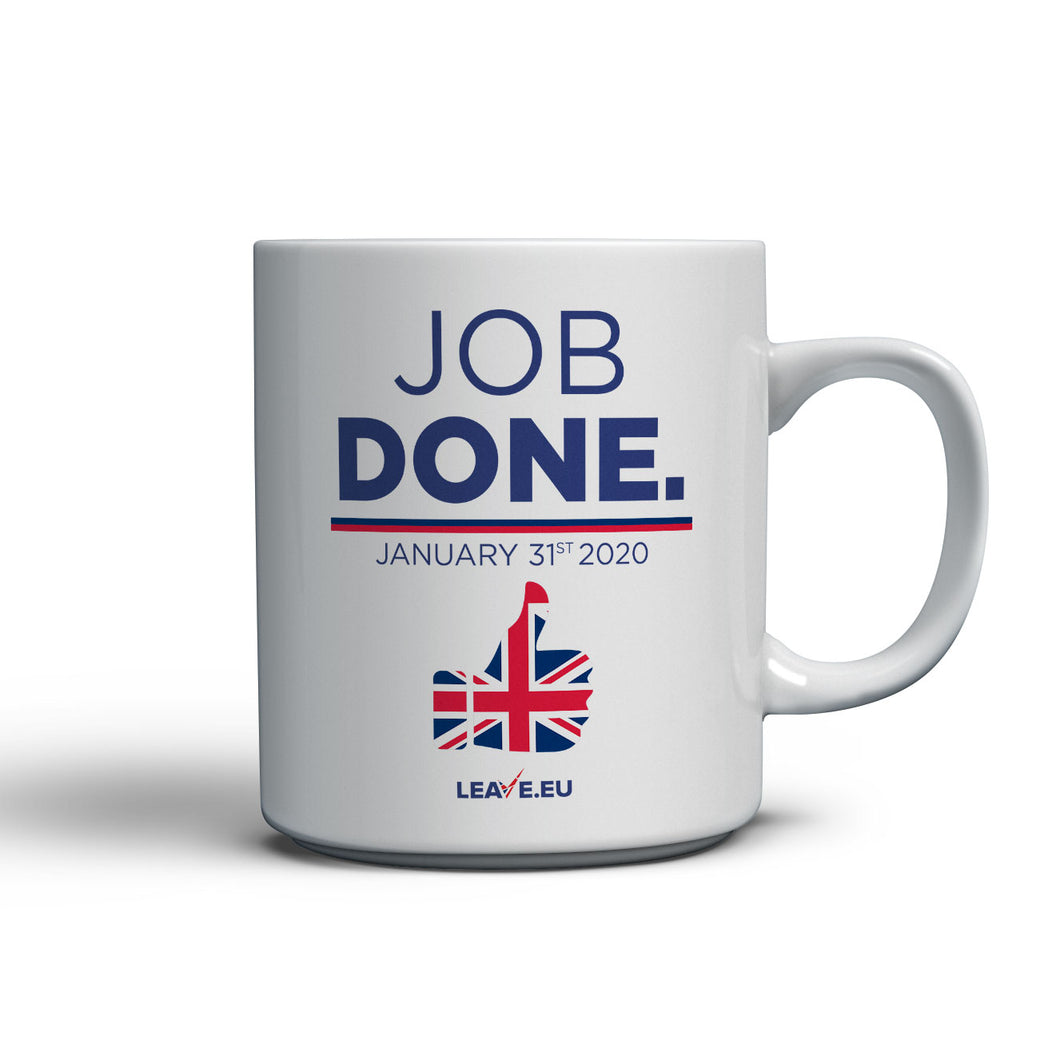 Job Done - Dishwasher Safe Ceramic 10oz Mug