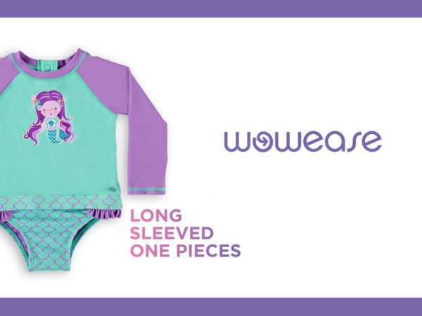 Long-Sleeved One Pieces Have Arrived!