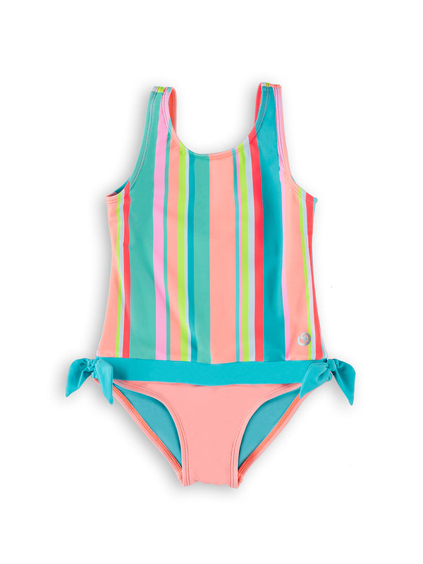 Stripe Hype Young Girls Magnetic One-Piece