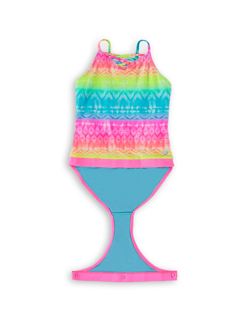 Wave To Go Young Girls Magnetic One-Piece