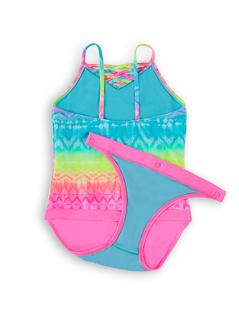 Wave To Go Girls Magnetic One-Piece