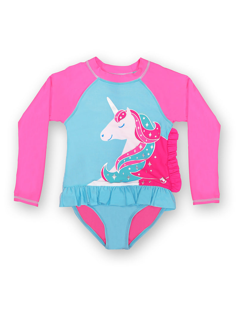 Born To Unicorn Young Girls Magnetic One-Piece