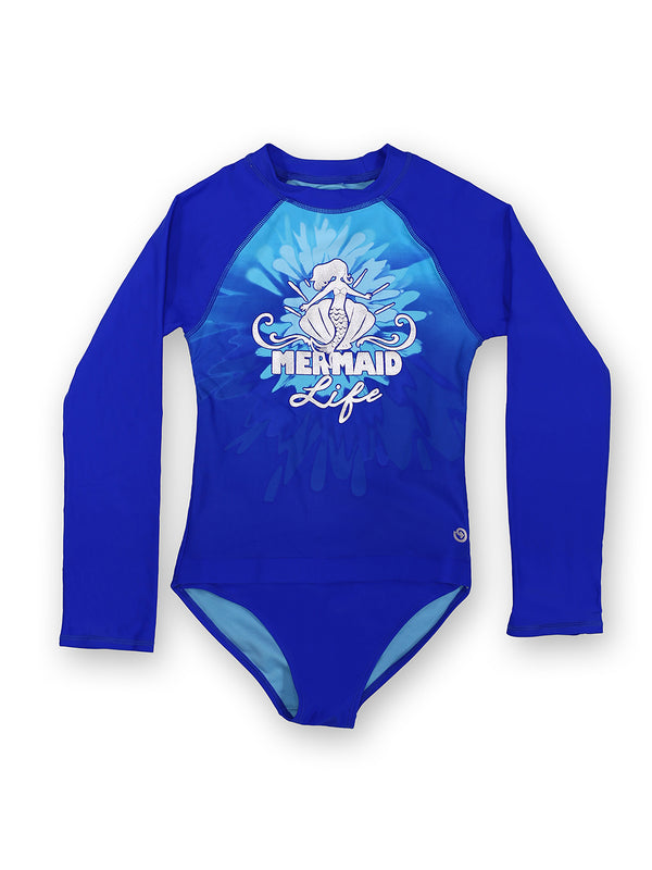 Mermaid Life Girls Magnetic One-Piece