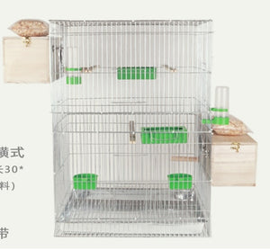 Large Bird Cages for Parrots Parakeet Octopus Metal Birdhouse Heightened Breeding Cage Bird Kages Bird Nest Pigeon Supplies