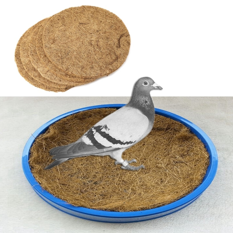 Pigeon Supplies Bowl Grass Mat Dehumidification Bird Eggs Basin Nest Accessories 85WC