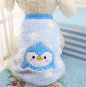 Cute Warm Dog Clothes for Small Dogs Winter Cotton Dog Clothing Coat Jacket Puppy Clothes Pet Dog Coat Yorkies Chihuahua XS-2XL