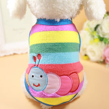 Load image into Gallery viewer, Cute Warm Dog Clothes for Small Dogs Winter Cotton Dog Clothing Coat Jacket Puppy Clothes Pet Dog Coat Yorkies Chihuahua XS-2XL