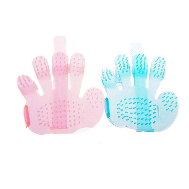 Silicone Pet Brush Glove Deshedding Gentle Efficient Grooming Cat Glove Dog Bath Pet Cleaning Supplies Pet Glove Pet Supplies