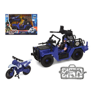 Playset Police Rescue Team Blue
