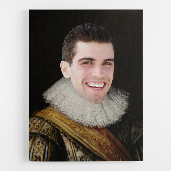 Noble Man Canvas