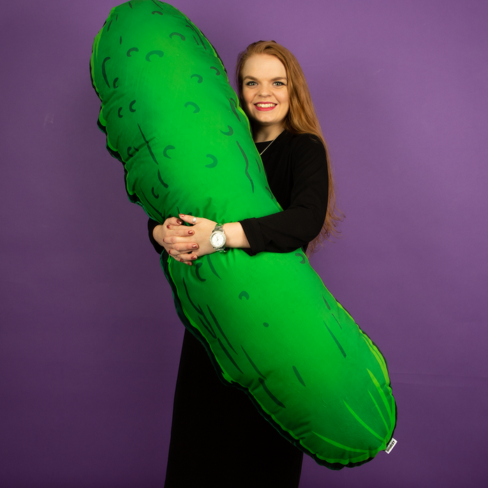 Giant Pickle Cushion