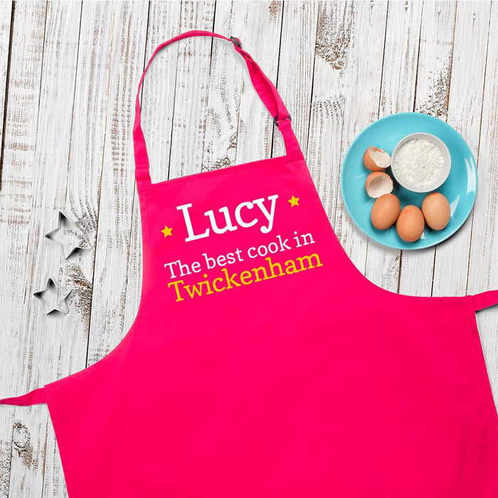 Personalised The Best Cook Apron