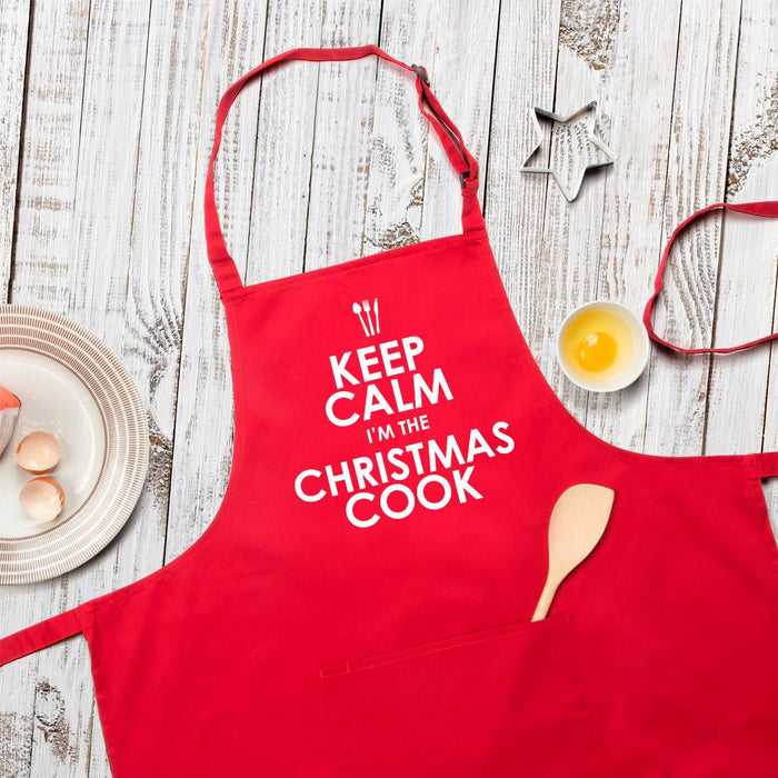 Keep Calm I'm The Christmas Cook