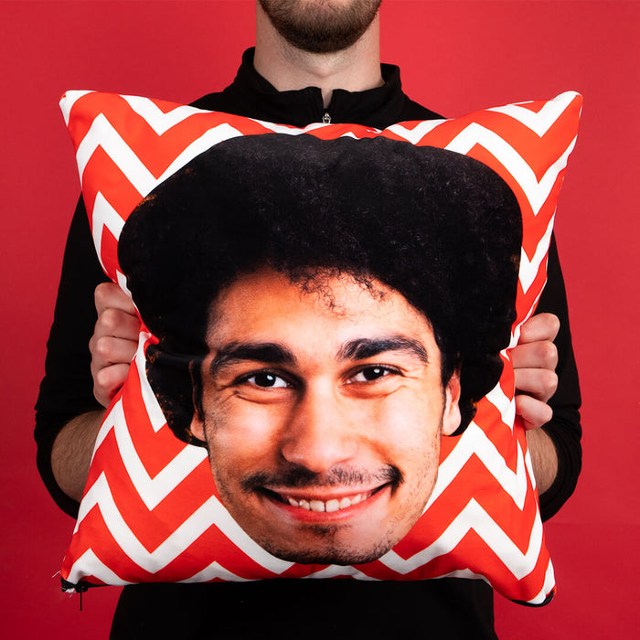 Face Zig Zag Cushion