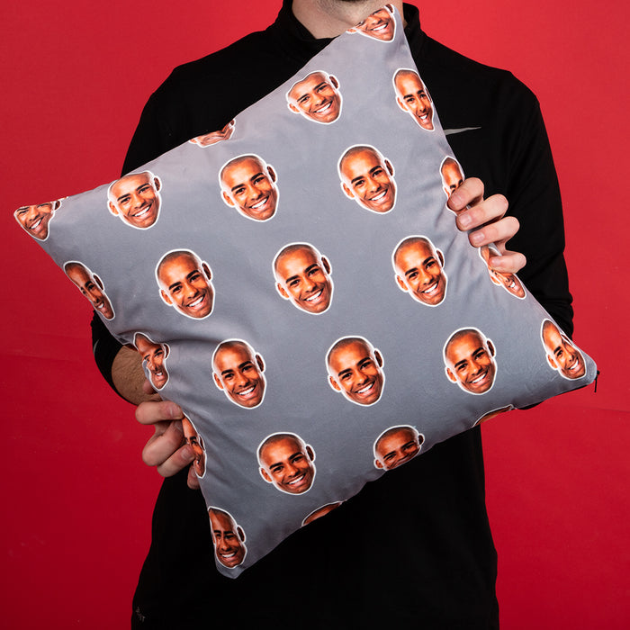 Face Pattern Cushion
