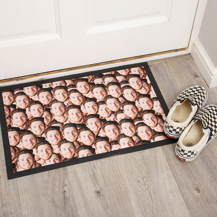 Face Mash Door Mat